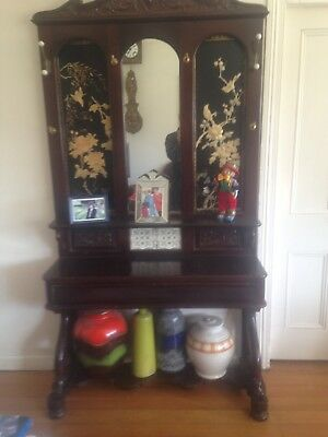 Antique 1920's Timber Hall stand - Used Condition