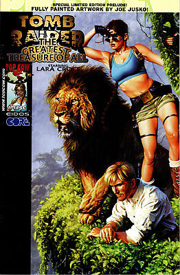 Tomb Raider: Greatest Treasure Of All Prelude Limited Edition Joe Jusko
