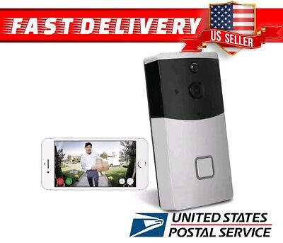 Smart Video Doorbell HD Camera Outdoor Home Wireless Security APP Door Bell