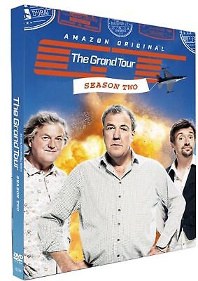 The Grand Tour Season 2 DVD Brand New & Sealed DVD Box Set- Fast & Free Delivery