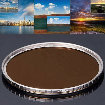 PRO TANLE ND1000 Circular Polarizer Filter62mm ~ 95mm for Sony Canon Nikon US