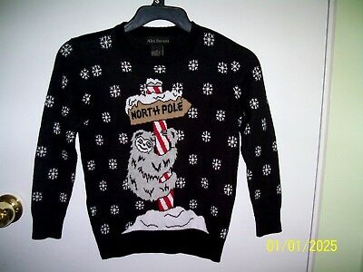 Size 6 Alex Stevens Ugly Christmas Sweater Boys New