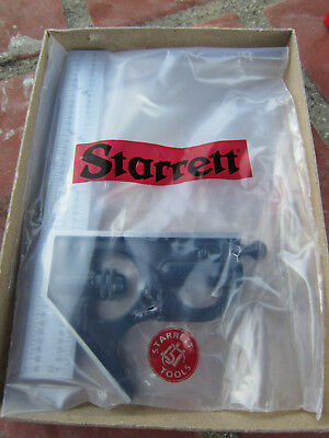 Starrett C33H-6-4R 6-Inch Combination Square with Forged and Hardened Steel Head