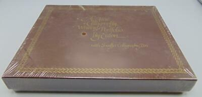 A Fine Calligraphy Writing Portfolio Set By Eaton Vintage SEALED Scheaffer Pen