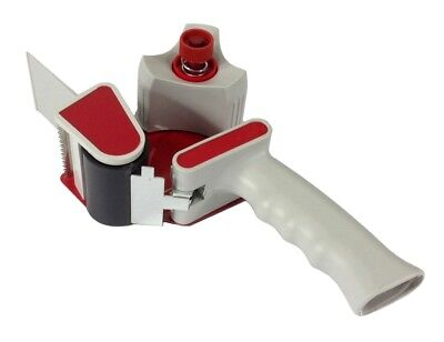 "2"" TAPE DISPENSER GUN - Dual Tensioners Packaging Cutter Heavy Duty PROFESSIONAL"