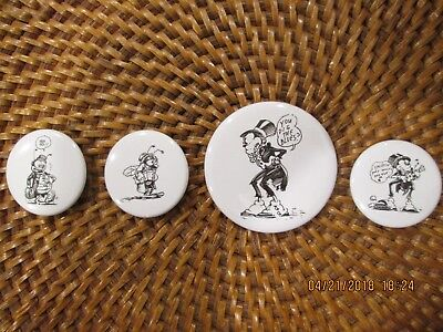 Comic 4 Buttons Dig the Blues Zap Zam Jam R Robert Crumb Moscoso A Bug Story