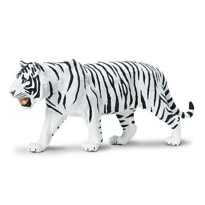 Wildlife Wonders White Siberian Tiger  Safari Ltd Animal Educational Toy Figure
