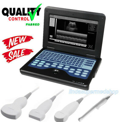Laptop Portable Digital Ultrasound Scanner Convex/Linear/Cardiac/Transvaginal US