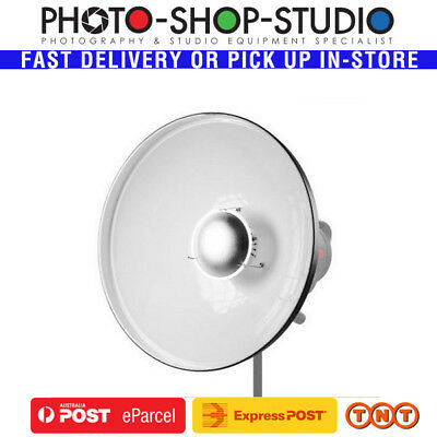 Jinbei Beauty Dish 70cm QZ-70-1  White Bowens Mount *Australia Local Stock*