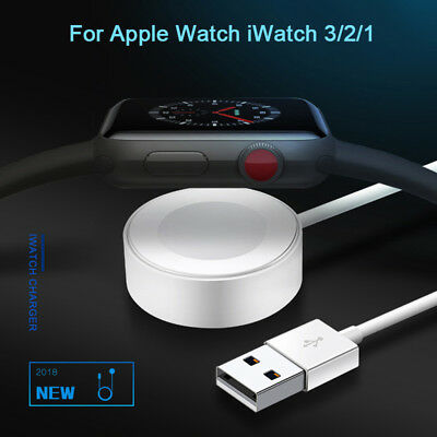 For Apple Watch iWatch 4 3 2 1 Magnetic Charger Charging Cable Pad 38mm 42mm 1M