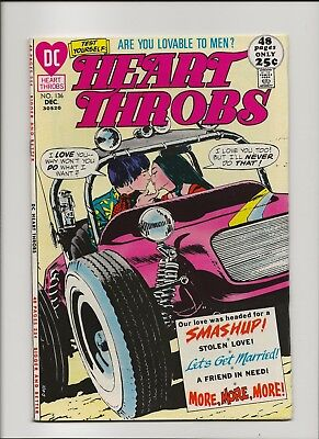 Heart Throbs 136 VF 8.0 25 Cent 48 Page Giant 1971
