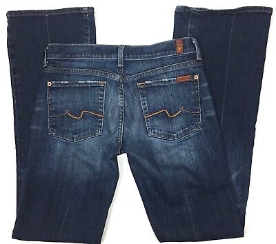 7 for All Mankind Jeans Womens Size 28 Stretch Boot Cut
