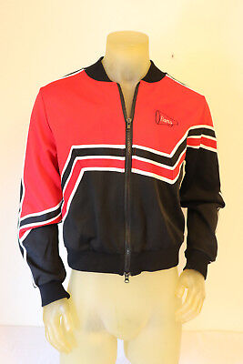 Vintage Cheerleader Jacket Made USA Medium Unisex Will Farrell Red Black White