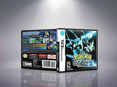 Pokemon Black Version 2 - Replacement Nintendo DS Cover and Case. NO GAME!!
