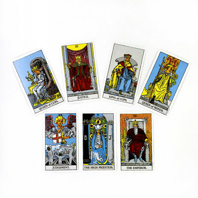 English Edition Knight Tarot Deck Future Fate Indicator Forecasting Cards Gifts