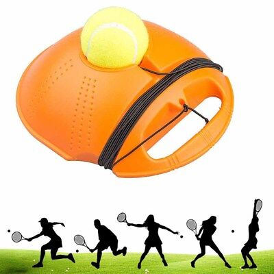 Tennis Ball Singles Training Practice Balls Back Base Trainer Self-study Tool US