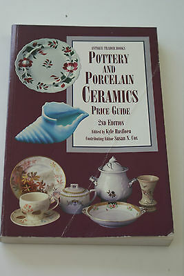 Antique Trader Books Pottery and Porcelain Ceramics Price Guide 2ndEdition L#288