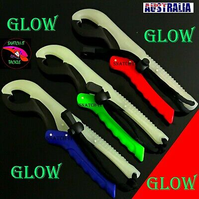 Lip Grip Fishing Tackle Gripper Grab Grips Kayak Plier Floating Lanyard Tool
