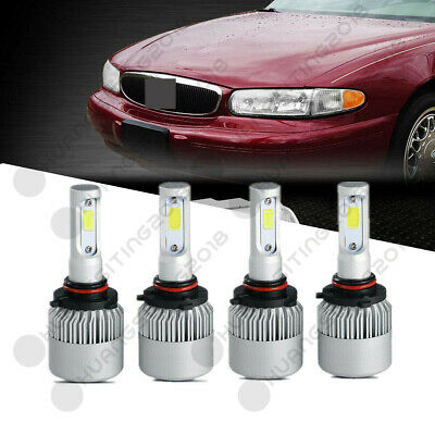 For 1997-2005 Buick Century Led Headlight Lamp Bulbs Combo Us 18920