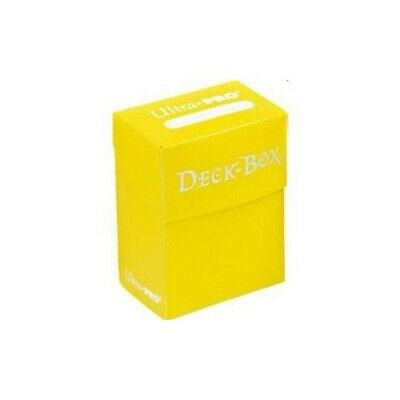 Ultra Pro Deck Box Yellow NEW
