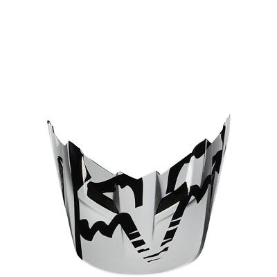 Fox Racing MX Spare Parts Mx17 V1 Helmet Visor-Race Black M/L 18257