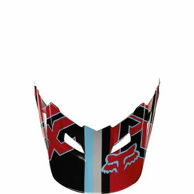Fox Racing MX Spare Parts Mx17 V1 Helmet Visor-Falcon Grey/Red M/L 18258