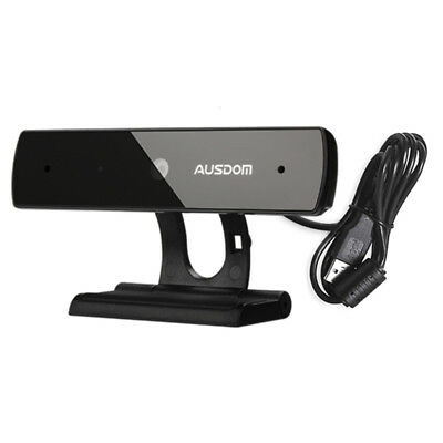 AUSDOM Webcam Full HD 1080P USB Webcam For Skype Web PC Computer With Microphone