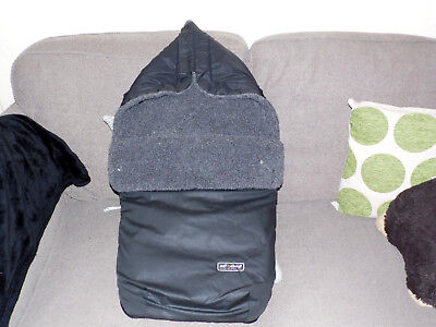 Out n About Nipper 360 Footmuff Cosytoes - Dark Grey - Single or Double