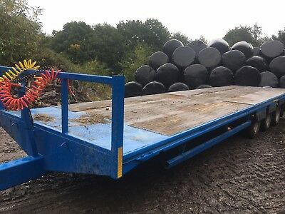 34 Foot Tri Axle Bale Trailer Silage/straw Trailer