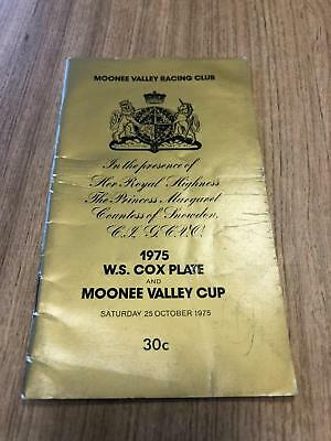 1975 Cox Plate - Greg Miles Collection