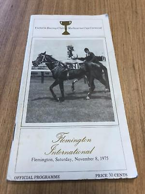 1975 Stakes Flemington International Reckless - Greg Miles Collection