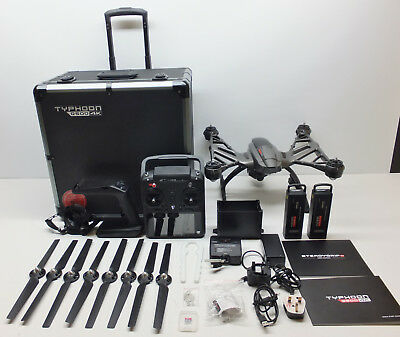 Yuneec Typhoon Q500 4K Camera Drone - Complete Set With Extras & Aluminium Case