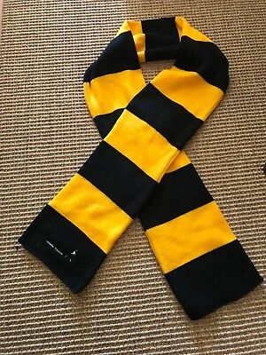 Rare Johnnie Walker Yellow and Black scarf NEW
