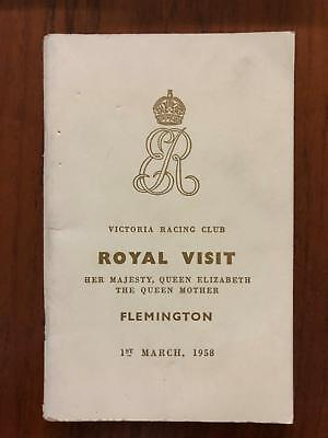 1958 VRC Royal Visit - Tulloch, Sailors Guide - Greg Miles Collection