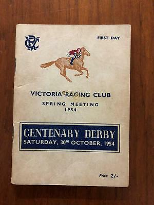 1954 Centenary Derby - Rising Fast - Greg Miles Collection