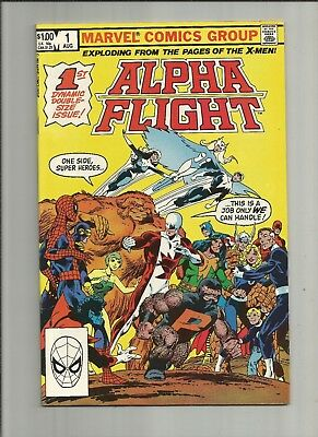 Alpha Flight  #1 fn 1983 ND John Byrne Marvel Comics direct edition cover