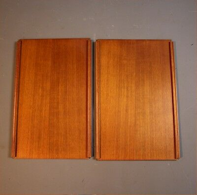 Small pair of Teak ladderax doors