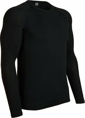 Icebreaker Herren Everyday LS 175 Crewe Baselayer hoch atmungsaktiv warm leicht
