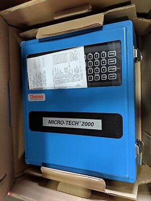 Thermo Ramsey Micro-Tech 2000 Micro-Tech Model 2301 Integrator