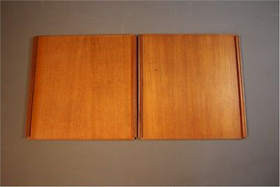 Largepair of Teak ladderax doors