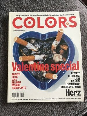 COLORS  #30 Valentines Special Feb-Mar 99 Magazine German/english