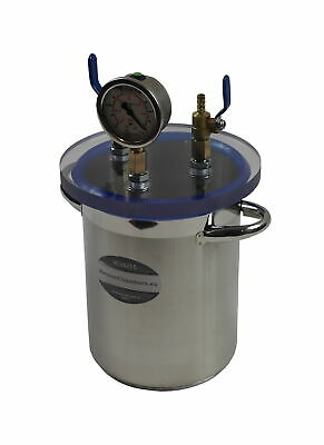 Vacuum trap 4.2l, for infusion process, stainless steel VT1621S