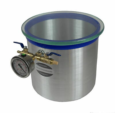 Vacuum chamber 12.5l for wood stabilizing, aluminum VC2523AG