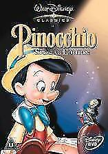 PINOCCHIO  - WALT DISNEY COLLECTION SPECIAL EDITION   DVD very good condition