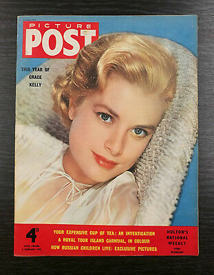 Picture Post Magazine feat Grace Kelly, 5th February 1955