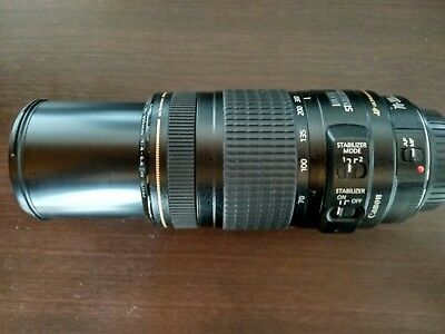 Canon Zoom Objektiv Lens EF 70-300 mm 1:4 - 5.6  IS  USM