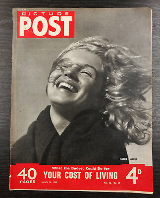 Picture Post Magazine feat Marilyn Monroe, 26th March 1949