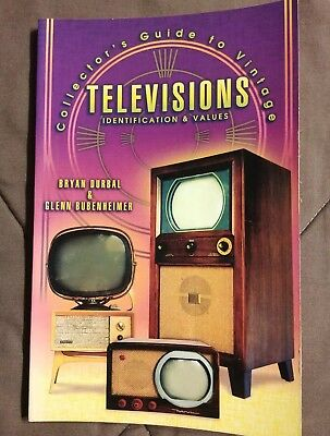 Collectors Guide to Vintage Televisions Identification & Values Panasonic Sony