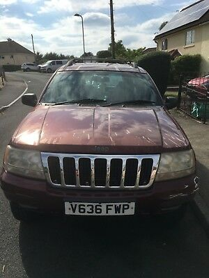 Jeep Grand Cherokee 3.1  4X4 Auto Limited Diesel Estate (SPARES OR REPAIR )