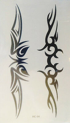 Einmal Tattoo Ornament Temporary Tattoo Aufkleber Temporäre Tattoos HC94